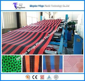 Best Plastic PVC Anti-Slip Matting Roll Production Line Plastic Mat Extruder Machine wholesale