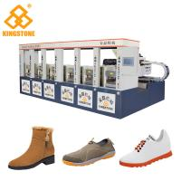Best Single / Double Color Rubber Sole Making Machine for Men Leisure Shoes Sandals wholesale