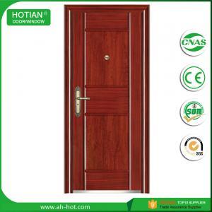 Best single house main gate door designs high security door price steel entry door wholesale