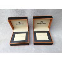 Cheap Cardboard Cufflink Gift Boxes , Cufflink Display Case Personalised for sale