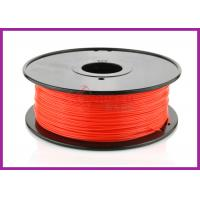 Best Red Plastic 1.75MM PLA Filament Toughness , Ultimaker UP Filament wholesale