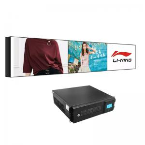 Best 16/9 2x3 Video Wall 1209.6x680.4mm Horizontal Bar Containing Edges wholesale
