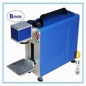 Quality Cheap 10w 20W 30W IPG Portable mini laser fiber marking machine wholesale