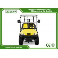 Best Excar Golf Buggy Electric 2 Seater Yellow And Black ISO/CE Approved wholesale