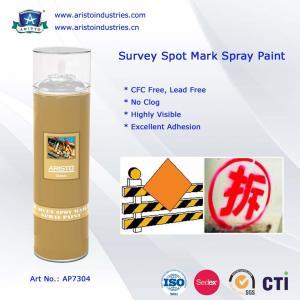 Best High Visibility Marking Spray Paint No Clog Survey Spot Aerosol Survey Marking Paint 500ml wholesale
