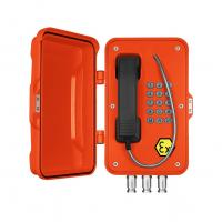Best Corrosion Resistant ATEX Outdoor Analog Phone / Wall Mounting Ex Proof Telephone wholesale