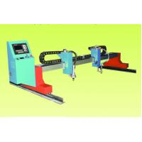 China Steel Structure Automated Plasma Cutter / Cutting Machine 7.0 Inches LCD Display on sale