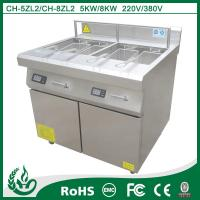 China deep fryer oil filter machine 800*800*920MM with 5kw on sale