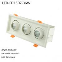 Cheap 36W interior europe style dimmable LED down light for supermarket used for sale