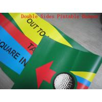 Cheap Custom Made Reinforced Pvc Vinyl Banners Double Sided 1440 Dpi Printing for sale