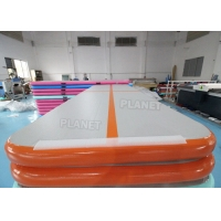Best 10ft Drop Stitch Material Inflatable Gymnastics Air Tumbling Track wholesale
