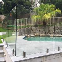 Best High Quality Tempered Glass Swimming Pool Fence Philippines Price wholesale