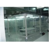 Best Power Coated Steel Softwall Cleanroom Pharmaceutical , Vertical Laminar Air Flow Chamber wholesale