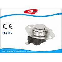 Buy cheap 240V / 25A Bimetal Snap Disc Thermostat KSD302R-244 For Household Appliances from wholesalers
