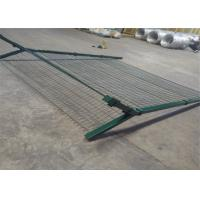 Best 3D Curvy PVC Coated Welded Wire Fence Panels Security For Airport wholesale