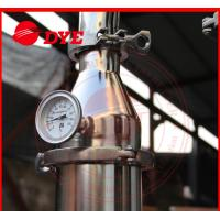 Best DYE 70Kg Miniature Alcohol Home Distilling Machine 3mm Thickness wholesale