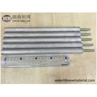 Best ASTM Zinc Aluminum Anode Rod AlZn10 For Water Heater Solar Heater wholesale