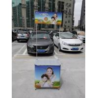 Best Aluminum Alloy Promotional Display Counter With Full Color Graphic Printing wholesale