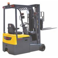 Warehouse 3 Wheel Electric Forklift , Industrial Lift Truck 1500KG Load Capacity