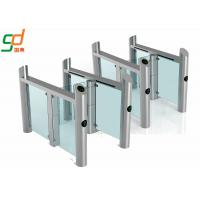 Best Stainless Steel Supermarket Swing Gate RFID Access Control Speed Gates wholesale