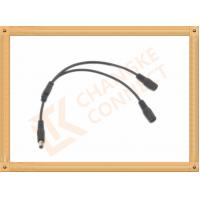 Best OEM / ODM DC12V custom power cables Male To Female 1 To 2 Y Type wholesale