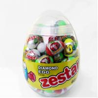 Best 6g Diamond and Dinosaur Egg Shape Healthy Hard Candy ,Healthier Lollipop with good price wholesale