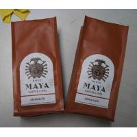 Quality Matte Surface Quad Seal Mexico Type Coffee Tea Bags With Air Evaculation Valve wholesale