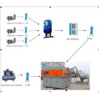 Best 4 Cavity Mineral Water PET Bottle Blowing Machine , Plastic Stretch Blow Moulding Machine wholesale