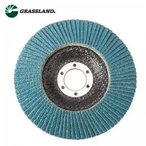 Best 115mm 60 Grit Zirconium Angle Grinder Sanding Flap Disc wholesale