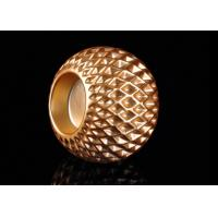 Best Honeycomb Design Electroplating Effect Tealight Candle Holder Made By Ceramic wholesale