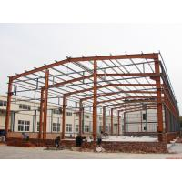 Prefabricated Industrial Building Steel Structure Shed Lightweight Fire Resistance