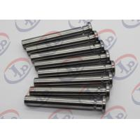 Best Carbon Steel CNC Turned Parts 10*46mm Small Q345 Steel Shaft Pins + - 0.1 Mm Tolerance wholesale
