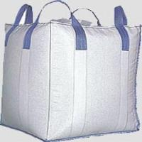 Best Cross Corner Conductive Big Bag FIBC For Packing Soybean Meal, 3000 LBS Capacity wholesale