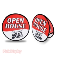 Best Oval Double Sided Pop Up Banner Stand For Portable Activity wholesale