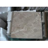 Best Light Emperador Marble Stone Tiles Beige Color For Bathroom Kitchen 305x305mm wholesale