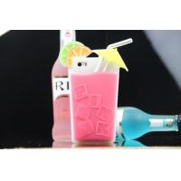 Best drinking cup 3d silicone phone case for iphone 5 5s wholesale