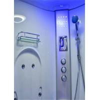 Cheap Comfortable Whirlpool Steam Shower Bath Cabin Unit With Computer Control Panel for sale