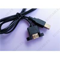 Cheap Black UL2725 A/M To A/F USB Extension Cable For Signal for sale