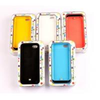 Best Yellow Thin IPhone 5 External Battery Case Durable For IPhone5S / 5C wholesale