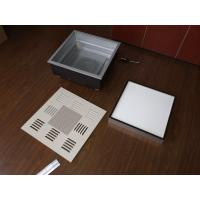 China Disposable Hepa Filter Box / Clean Room Hepa Filter Box Steel Frame on sale