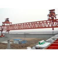 China Precast Bridge Girder Erection Machine With 10M Max Lifting Height For Highway on sale