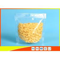 Buy cheap PET/ PE Clear Plastic Zipper Stand Up Ziplock Bags Dry Food Grade Packaging Bags from wholesalers
