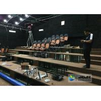 Best 180 Degree Curved Screen 5D Theater System Counting System 9 Seats wholesale