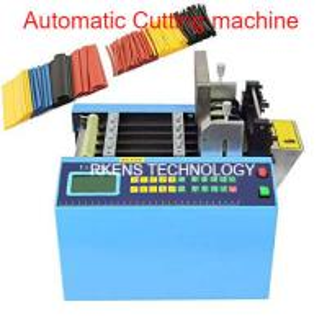 Best English Language Automatic Webbing Cutter For Heat Shrink / PVC Sleeve Tubing wholesale