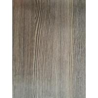 Best Natural Look Wood Grain Finish Foil Paper 1270mm PU Painting Scratch Resistance For Drawers wholesale