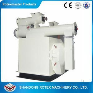 Best Horizontal Ring die Animal Feed Pellet Machine 55 ke power large capacity wholesale