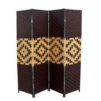 Best Woven room dividers, paper rope woven room divider, utility folding screen,qingdao China wholesale