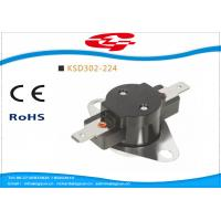 Buy cheap Automatic reset Bimetal Snap Disc Thermostat KSD302-244 240V / 25A For home Appliances from wholesalers