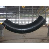 China 90 Degree Welded Induction Carbon Steel / Stainless Steel Tube Bending Round Shape on sale