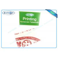 Quality Printed Environmentally Friendly Party Disposable Tablecloths45 gr / 50gr / 70gr Cutting Piece wholesale